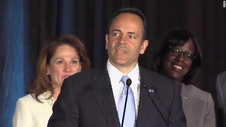 Kentucky Gov. Matt Bevin signed both abortion bills into law on Monday.