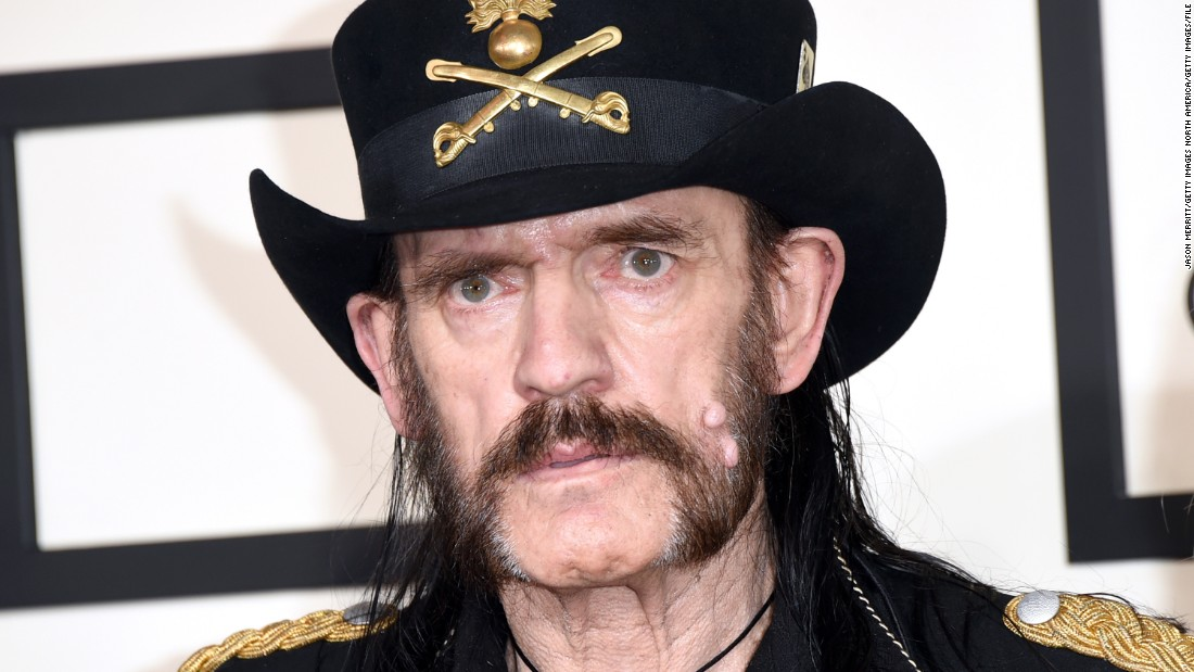 LOS ANGELES, CA - FEBRUARY 08:  Musician Lemmy of Motorhead attends The 57th Annual GRAMMY Awards at the STAPLES Center on February 8, 2015 in Los Angeles, California.  (Photo by Jason Merritt/Getty Images)
