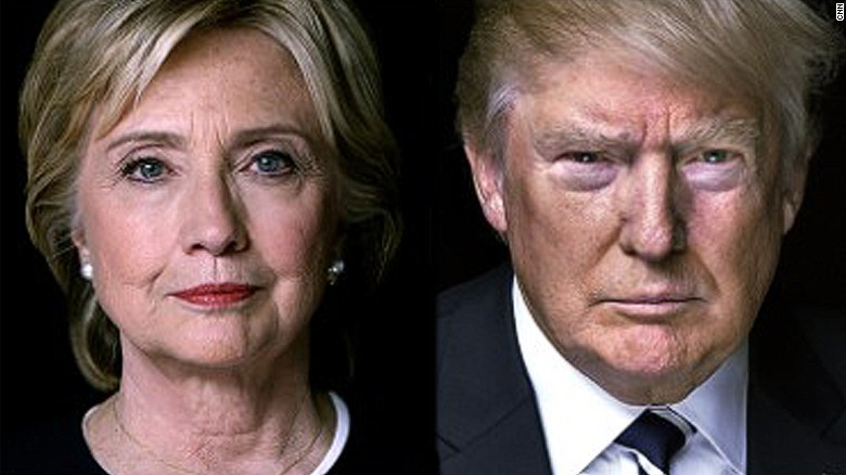 Image result for hillary clinton and donald