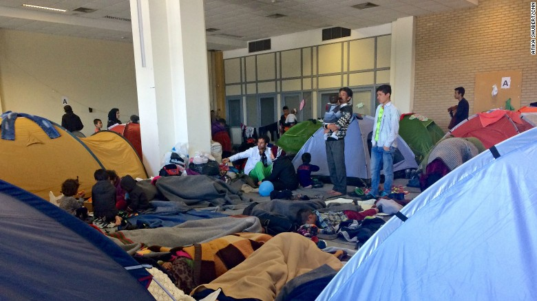 Image result for photos of refugees at airports
