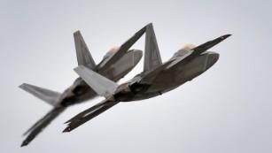 US F-22s intercept Russian bombers, fighters near Alaska