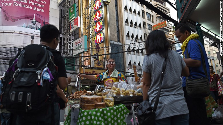 Bangkok's Chinatown is one of the best city districts for street food.