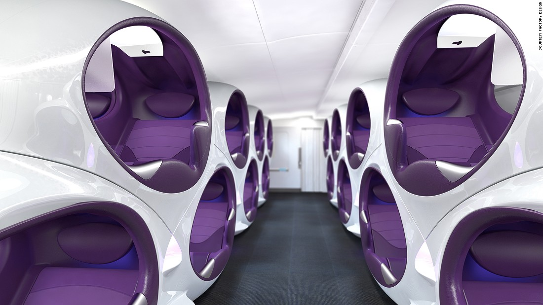 Airline cabins of the future A new travel golden age