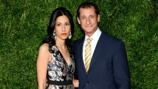 Huma Abedin accounced she was separating from husband Anthony Weiner.