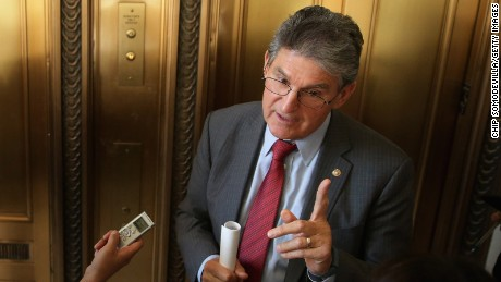 Manchin: opioid pills prescribed 'like M&M's'