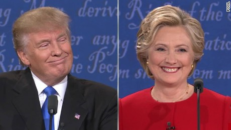 Image result for TRUMP & CLINTON