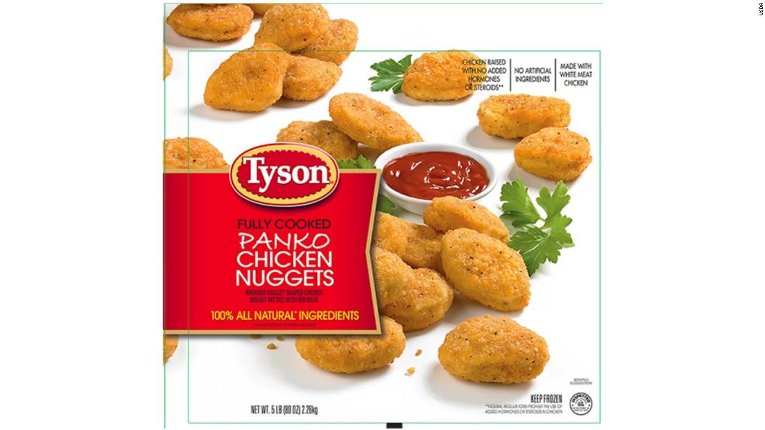 Tyson Chicken Nuggets Recalled CNN