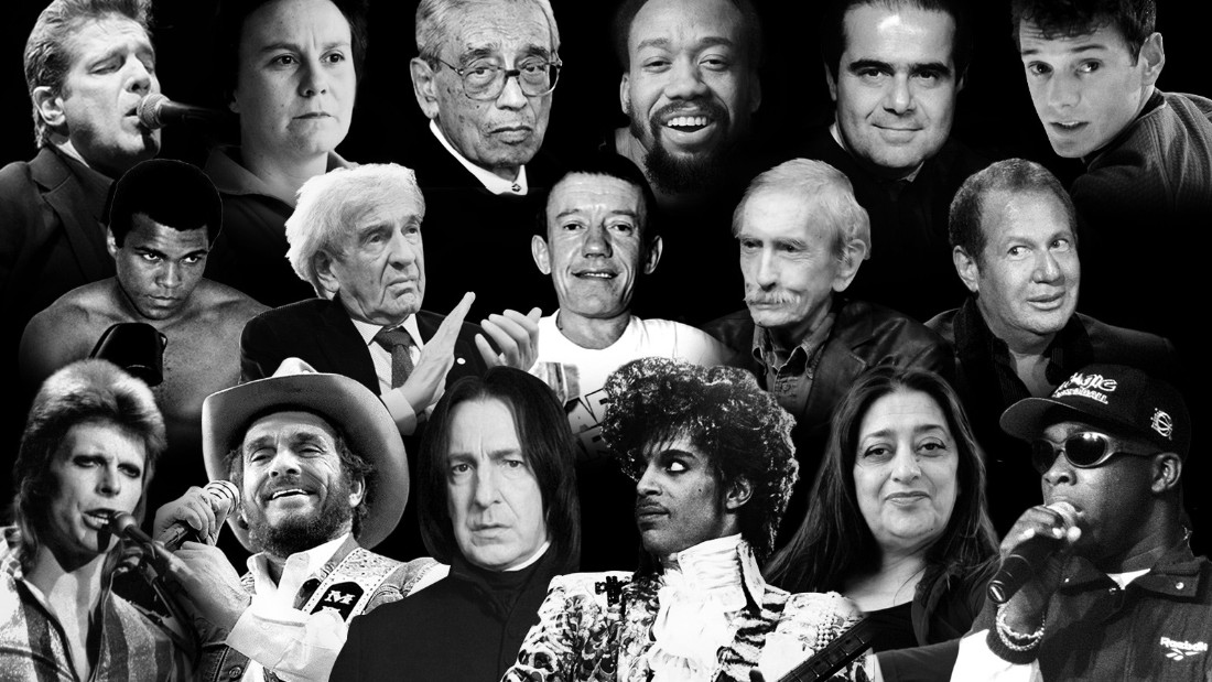 Image result for famous deaths in 2016