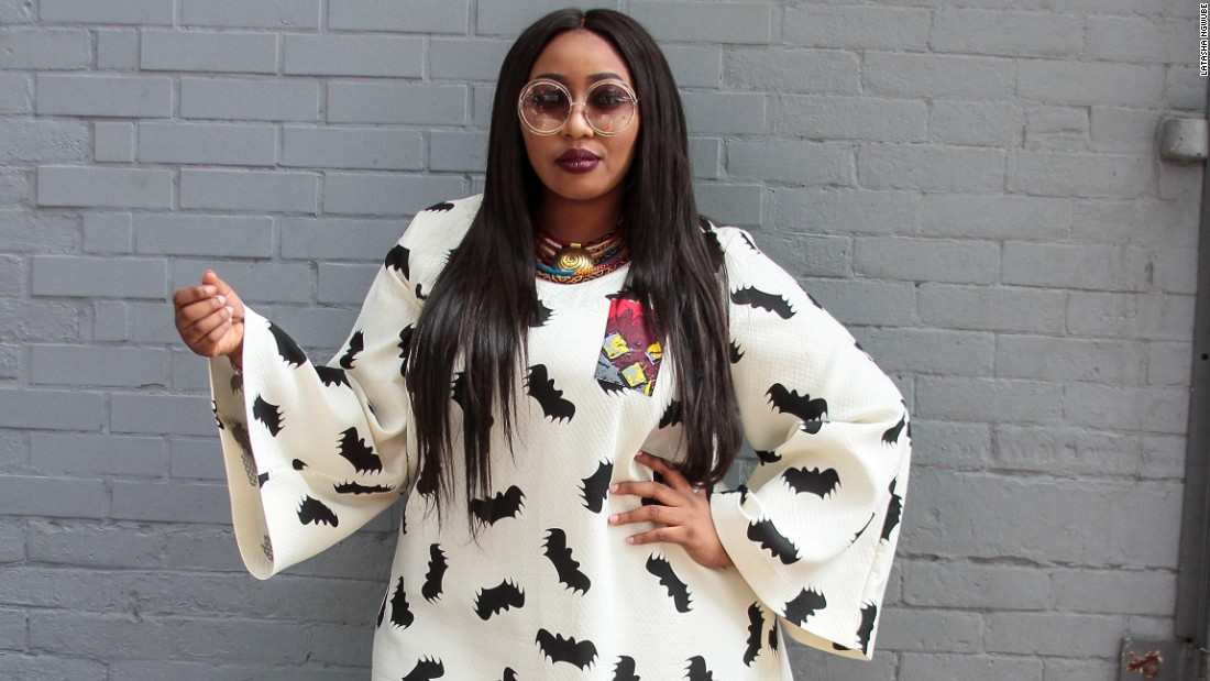 "Looking back on the event Ngwube (pictured) is confident that they have made a real case for plus size that everyone could relate to. ""We had the courage to say: 'I am not what fashion says I should be,"" she told CNN."