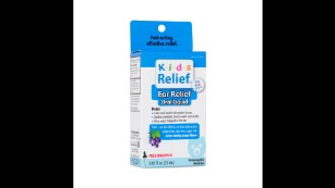 Kids Relief Ear Homeopathic Ear Relief Oral Liquid is among the recalled items.