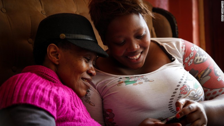 Titila Mputa has seen just how devastating HIV can be. Her mother has the virus and has had four strokes.