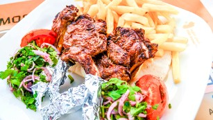Shish Shawerma: An authentic Abu Dhabi food experience.