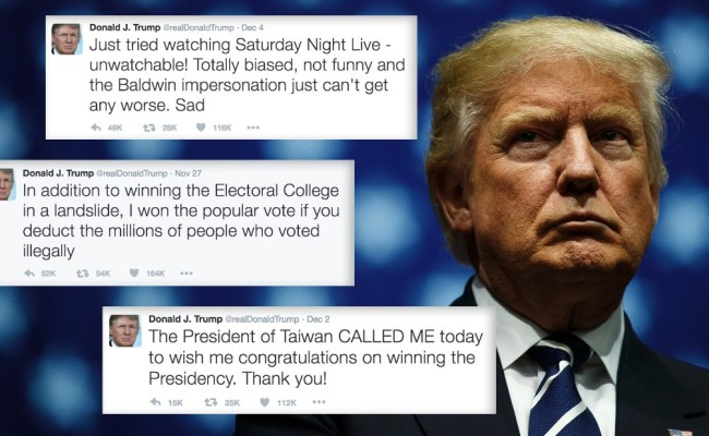 Donald Trump S Tweets As President Elect Annotated
