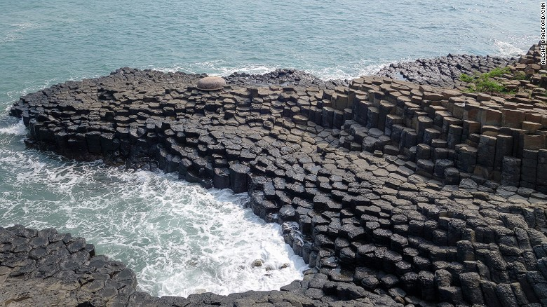 """Vietnam's relatively unknown """"Giant's Causeway"""" lies on an extraordinary ocean ride."""