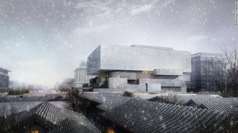 La Città Proibita è in procinto di ottenere un nuovo vicino di casa.  Seduto accanto a l'architettura del vecchio mondo del centro di Pechino, il 68.027 piedi quadrati guardiano Art Center in programma di svelare un look completamente nuovo grazie alle internazionale studio di architettura Büro Ole Scheeren.