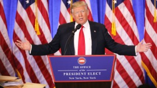 In transition: President-elect Trump