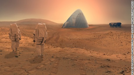 The Space Exploration Architecture and Clouds Architecture Office took home first prize for their