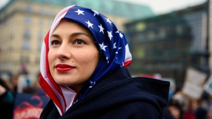 Image result for women's march hijab