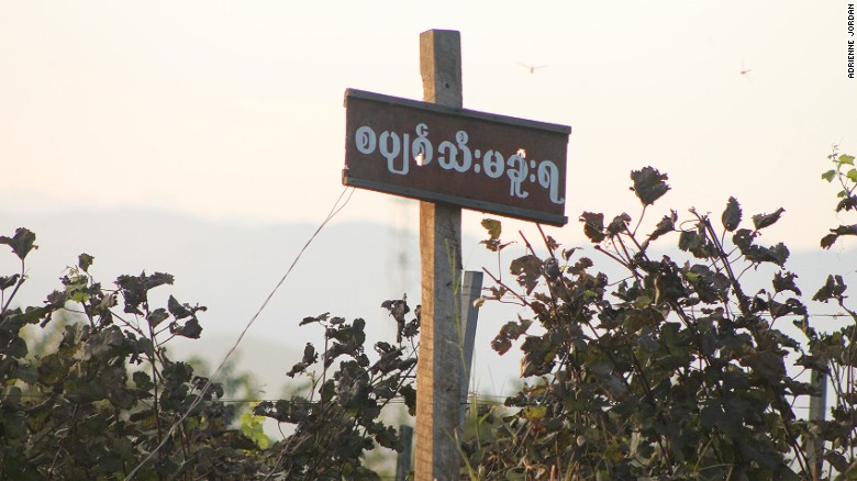 Aythaya Wine Estate is one of the only two wineries in Myanmar.