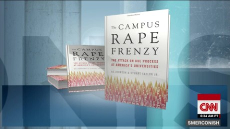 Campus rape statistics 'misleading,' says author of new book
