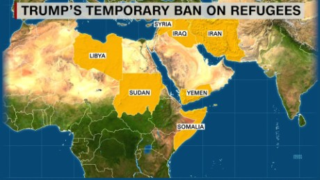 Image result for trump banned country list