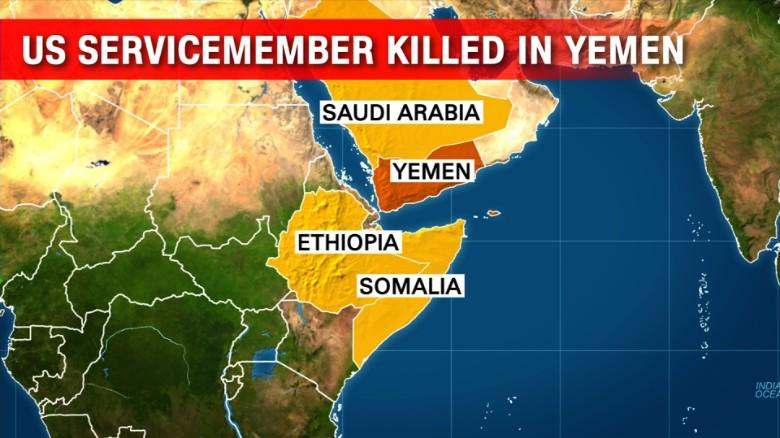 Image result for US service member killed in raid on al Qaeda in Yemen
