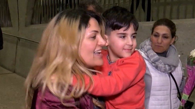5-year-old detained at airport