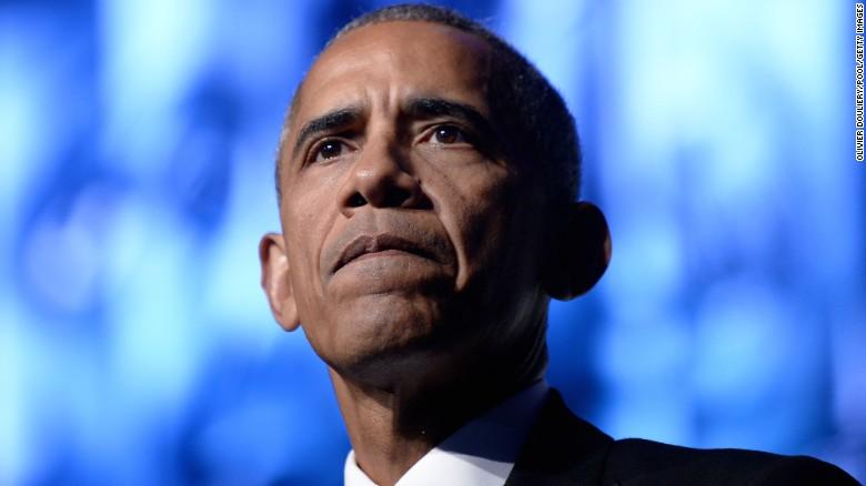 President Barack Obama speaks to the Congressional Black Caucus Foundation's 46th Annual Legislative Conference Phoenix Awards Dinner on September 17 2016, in Washington.
