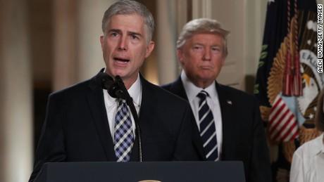 Trump falsely accuses senator of misrepresenting Gorsuch criticism