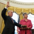 Jeff Sessions oath of office