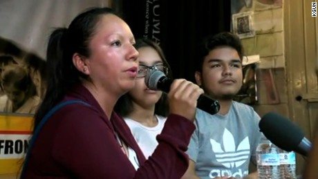 Deported mom becomes face of debate on Trump immigration policy