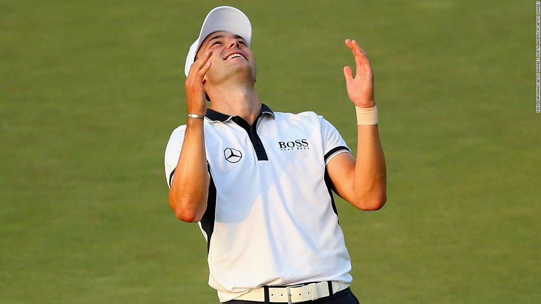 Two major wins (US Open 2014; PGA Championship 2010).