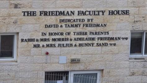 david friedman settlement donor