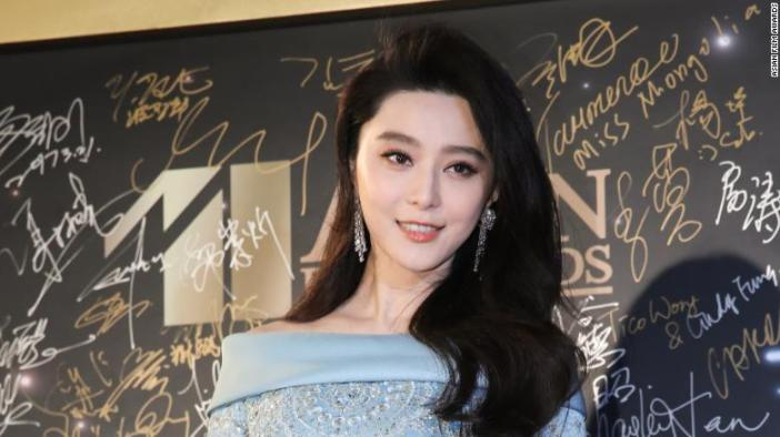 Chinese actress Fan Bingbing.