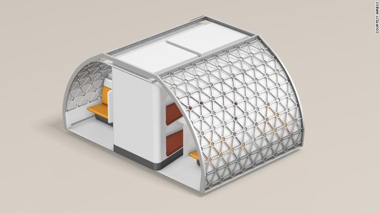 Transpose: A revolutionary design to boost flexibility in cabin refiguration.