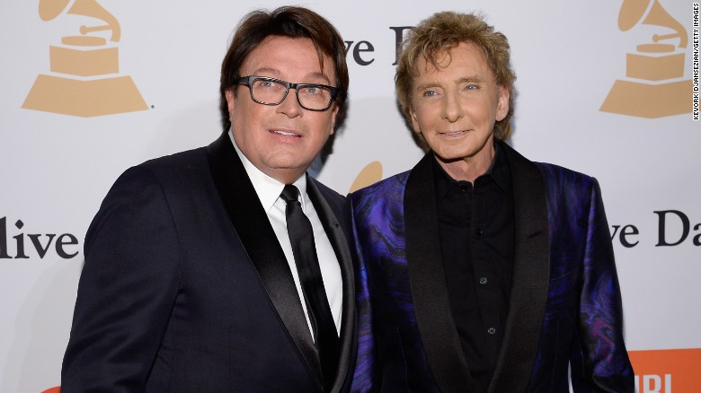 Image result for Barry Manilow on coming out and his secret marriage