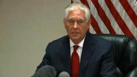Tillerson: No doubt Assad is responsible