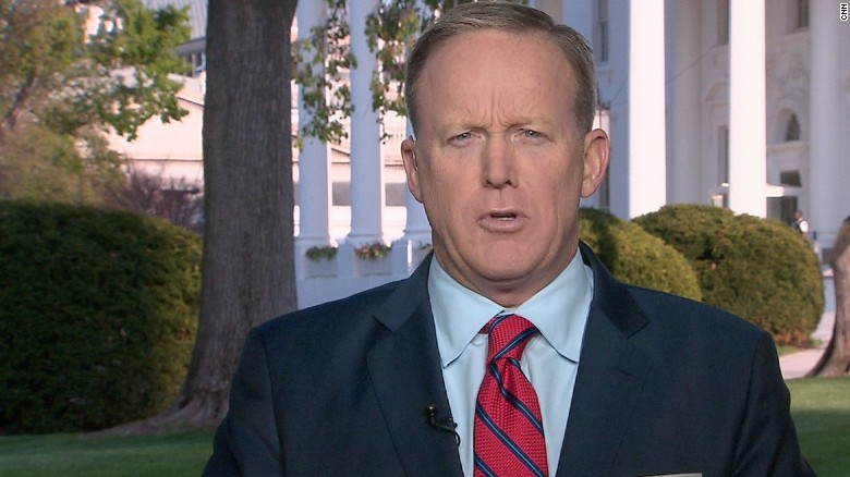 Image result for Spicer apologizes for Hitler comparison: 'It was a mistake to do that'