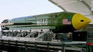 MOAB Mother of all Bombs