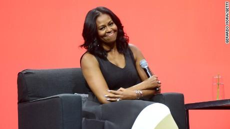 First on CNN: Trump administration memo calls for ending Michelle Obama's girls education program