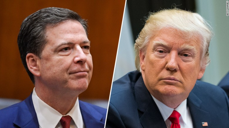 Image result for James Comey Donald Trump