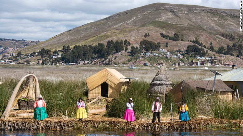 Floating islands are the star attractions of a Lake Titicaca excursion.