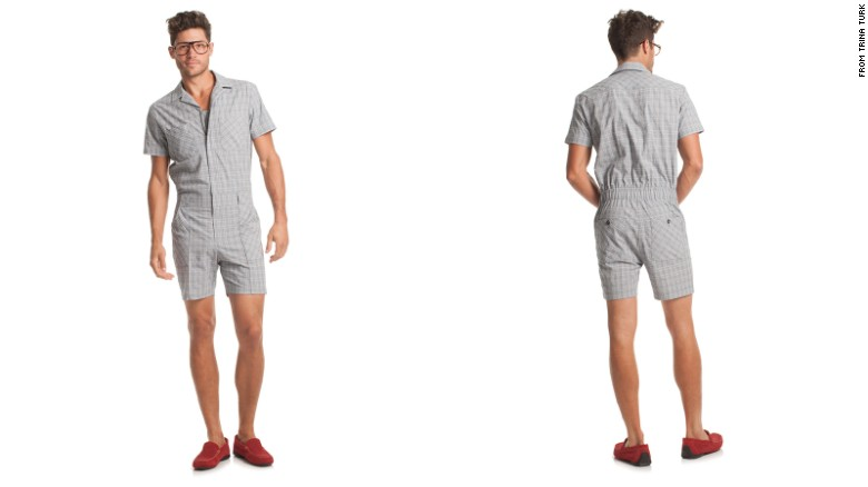 Rompers like this understated number have been available for years, but the trend is hitting the mainstream hard.