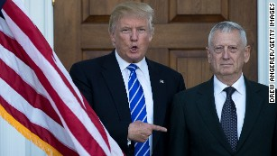 Mattis shuns the spotlight but stands his ground
