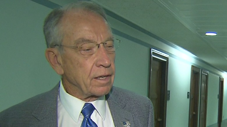 Image result for Grassley threatens subpoena for Trump Jr., Manafort if they don't testify