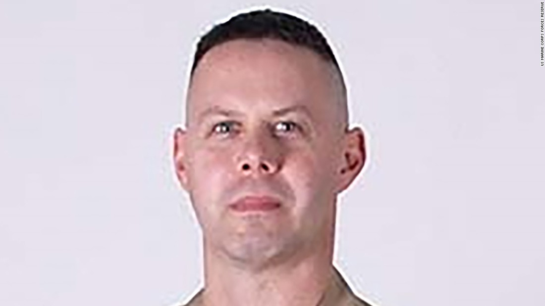 Gunnery Sergeant Brendan C. Johnson
