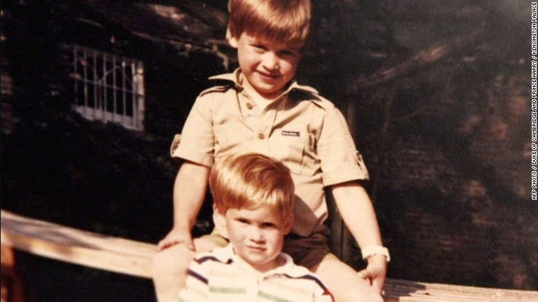 Princes William and Harry said their last conversation with their mother, Princess Diana, had been brief.