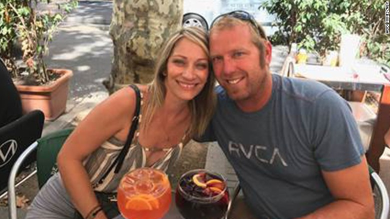 Jared Tucker was on a two week European trip with his wife Heidi Nunes.