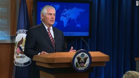 Tillerson: Pyongyang has shown restraint
