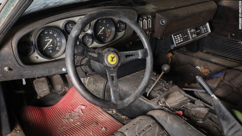 The Daytona's interior.
